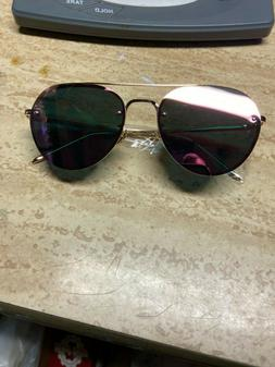 Duco Pink mirrored Aviation Sunglasses uv400     Includes fr