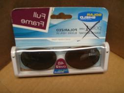 Solar Shield Polar TX lens full frame clip-on sunglasses Pol