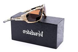 Verdster Polarized Camo Style Sunglasses For Men And Women,