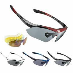 ROCKBROS Polarized Cycling Goggles Glasses Eyewear Sunglasse