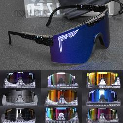 Pit Viper Polarized Cycling Sunglasses Sport Goggles for Men