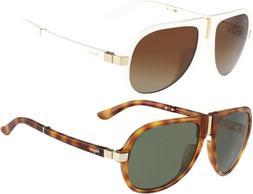 Salvatore Ferragamo Polarized Men's Foldable Pilot Sunglasse