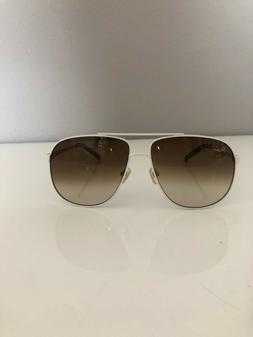 Original Penguin Polarized Men's White Frame Sunglasses