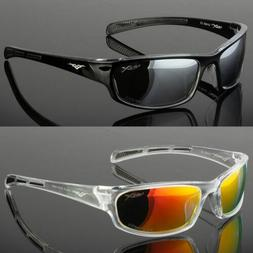 Polarized Mens Wrap Around Fashion Sunglasses Fishing Golf R