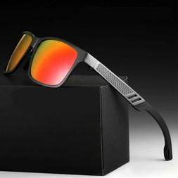 Polarized Metal Men Glasses Outdoor Sports Eyewear Driving U