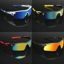 Polarized Sport Men's Cycling Baseball Golf Ski Sunglasses M