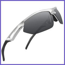 Polarized Sport Sunglasses For Men Women Teens Biking Drivin