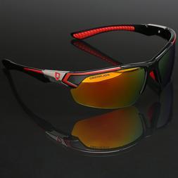 Polarized Sports Men Cycling Baseball Golf Ski Sunglasses Mi