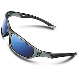 5e1e842d38 RIVBOS Polarized Sports Sunglasses Driving Glasses Shade for