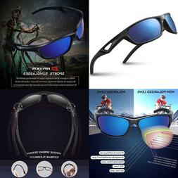 Rivbos Polarized Sports Sunglasses Driving Glasses Shades Fo