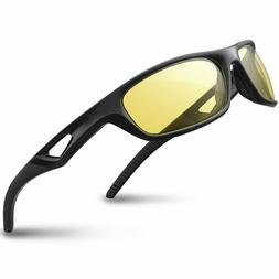 RIVBOS Polarized Sunglass for Cycling Baseball Driving Glass