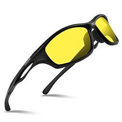 Duduma Polarized Sports Sunglasses for Men Women Baseball Ru