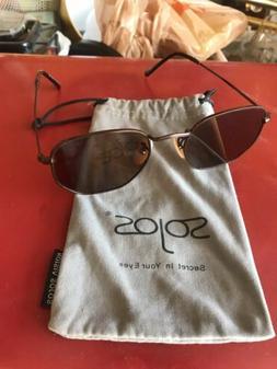SOJOS Polarized Sunglasses Classic Small Round Metal Frame f