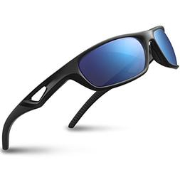 RIVBOS Polarized Sports Sunglasses Driving Glasses for Men W
