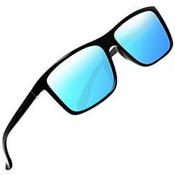 Polarized Sunglasses Driving Mens Sun Glasses Rectangular Vi