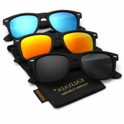 Polarized Sunglasses For Men And Women | Matte Finish Sun Gl