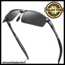 SOXICK Polarized Sunglasses for Men Women - Adjustable Metal