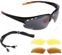 POLARIZED SUNGLASSES FOR SPORTS Interchangeable Lenses: UV40