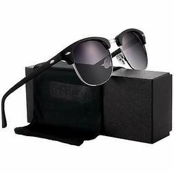 Polarized Sunglasses for Women and Men - wearPro Semi-Rimles
