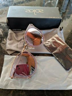 Sojos  Polarized Sunglasses for Women UV400 Mirrored Lens SJ