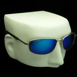 Polarized sunglasses mirror lens spring hinge temple drive f