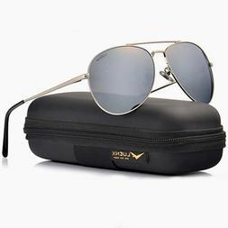 Polarized Sunglasses Mirrored Aviator Reflective Sun Glasses