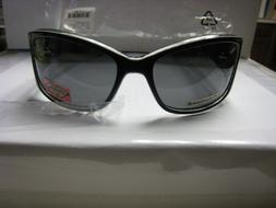 PHOEBE COUTURE Polarized Sunglasses-Women's #P402-BLACK-NWT-