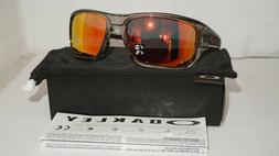 Oakley Men's Polarized Turbine OO9263-10 Grey Wrap Sunglasse