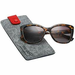 Polarspex Polarized Women's Vintage Square Jackie O Cat Eye