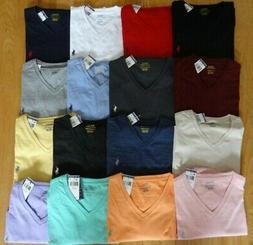 Polo Ralph Lauren Mens V NECK T Tee Shirt Brand New With Tag