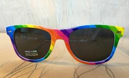 Rainbow Wayfare Style Sunglasses LGBT Pride Gay Retro Vintag