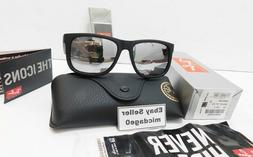 Ray Ban 4165 Justin 622/6G Black/Silver Mirror New Authentic