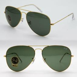 Ray-Ban aviator new sunglasses for men, women classic green