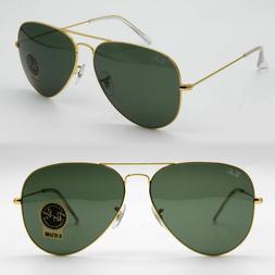 58mm Ray-Ban aviator new sunglasses for men, women classic g