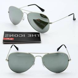Ray-ban aviator new sunglasses for men, women brown gradient