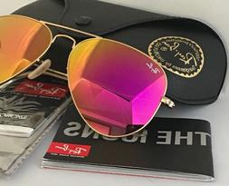 RAY BAN AVIATOR RB 3025 112/4T 58mm Pink MIRROR