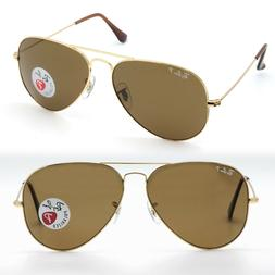Ray-Ban aviator new sunglasses for men, women brown polarize