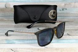 Ray Ban Chris Men / Women Sunglasses RB4187 639080 54 Tortoi