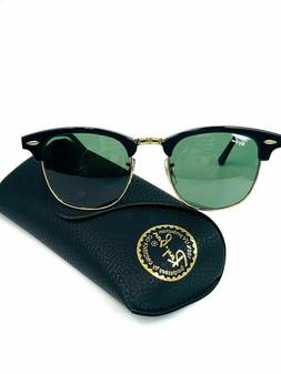 Ray-Ban Clubmaster Sunglasses RB3016 W0366 Tortoise G-15 Gre