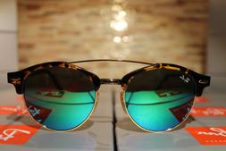 Ray-Ban Clubround Sunglasses RB4346 990/19 51mm Tortoise Fra