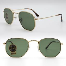 Ray ban sunglasses for men women hexagonal new classic green