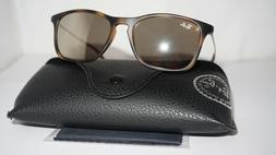 RAY BAN JR SIGNET New Sunglasses Silver Red Ble Polrize RJ95