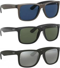 Ray-Ban Justin Men's Square Sunglasses - RB4165 - Made In It