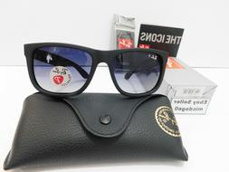 Ray-Ban Justin Polarized Sunglasses RB4165 622/T3 54mm Matte
