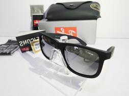 Ray-Ban Justin RB4165 622/6G Wayfarer Sunglasses/Matte Black