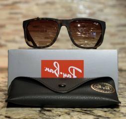 Ray-Ban Justin Sunglasses RB4165 710/13 54mm Tortoise Frame/