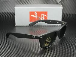 RAY BAN RB2132 622 New Wayfarer Black Rubber Crystal Green 5