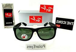 Ray-Ban RB4165 601/71 54mm Justin New Wayfarer Sunglasses Bl