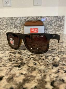 Ray Ban RB4165 Justin 865/T5 54mm Polarized Sunglasses