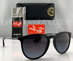 Ray-Ban RB4171 Erika Sunglasses Matte Black Grey Gradient Le